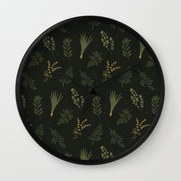 Fresh Herbs 2 Wall Clock