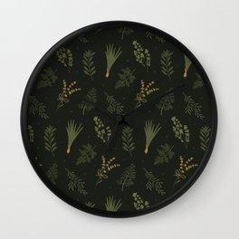 Fresh Herbs 2 Wall Clock
