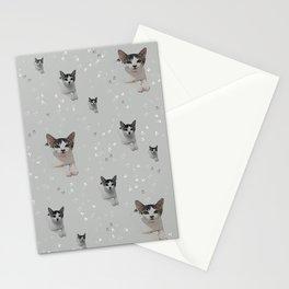 Cats Pattern.   cats, pattern, children, pet, feline, animals, Society6. Stationery Cards