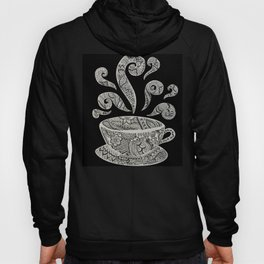 But first, Coffee - tea coffee lover zentangle Hoody