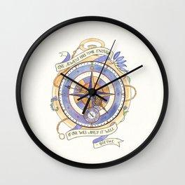 Use It Well Wall Clock