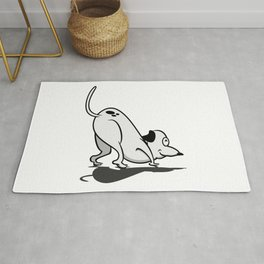 Cute Cartoon Beagle VS6S Rug