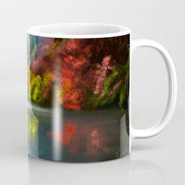 The trees at the lake Coffee Mug