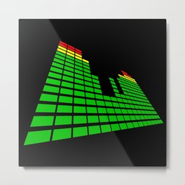 sound spectrum Metal Print