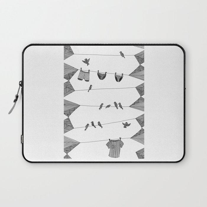 Clothing Line Laptop Sleeve