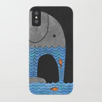 book iPhone & iPod Cases featuring Thirsty Elephant  by Terry Fan