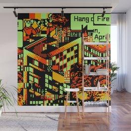 Fire Wall Mural