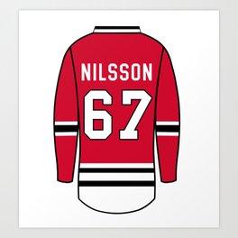 Jacob Nilsson Jersey Art Print