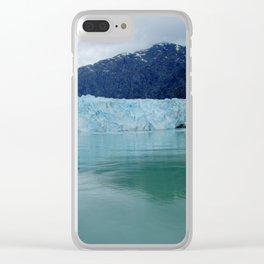 Alaska Blue Iceberg Pristine Wilderness Clear iPhone Case