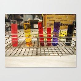 color me scientific Canvas Print