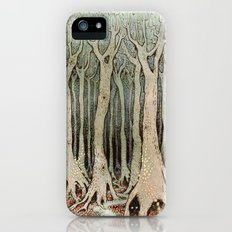 Tall Woods, Colour iPhone SE Slim Case