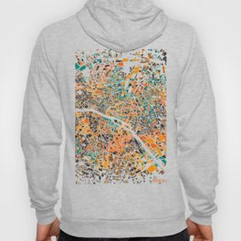 Paris mosaic map #3 Hoody