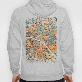 Paris mosaic map #3 Hoody