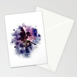 Galaxy fairy Stationery Cards