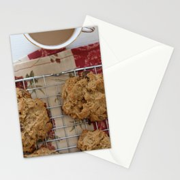 Oma's Chocolate PB cookies Stationery Cards