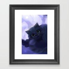 Chess Cat Framed Art Print