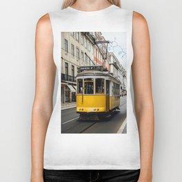 Tram in Lisbon Biker Tank