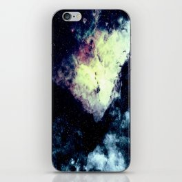 Teal Carina Nebula iPhone Skin