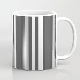 Grey Scale Lines Coffee Mug