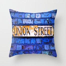 Union Street Throw Pillow