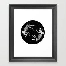 ITS OVER  Framed Art Print