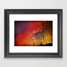 Dreaming in Color (of the Setting Sun) Framed Art Print