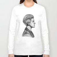 dylan Long Sleeve T-shirts featuring Dylan by Emily Smith (Emzstuff)