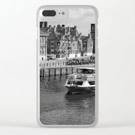 King's Staith beside the river Ouse Clear iPhone Case