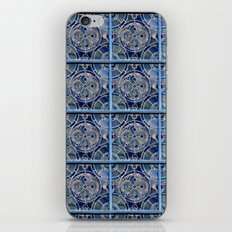 Blue windows iPhone & iPod Skin