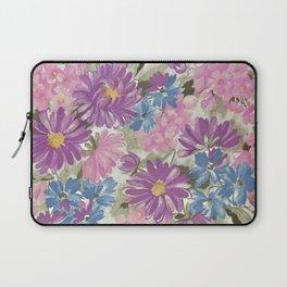 Floral pastel pattern Laptop Sleeve