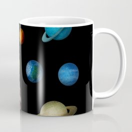 Outer Space Planets Coffee Mug
