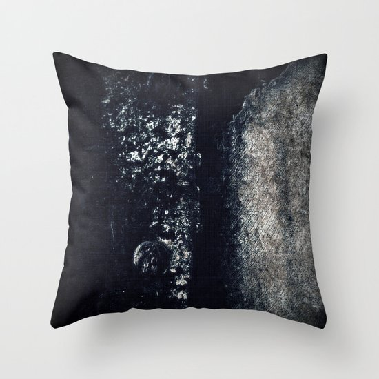 The old vest Throw Pillow