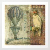 voyage Art Prints featuring Voyage by Aimee Stewart