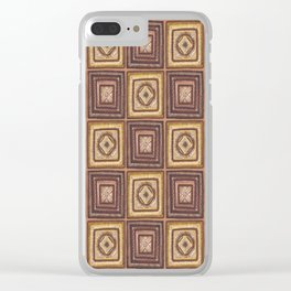 Earth Art: The Sun Shines from the Center Clear iPhone Case