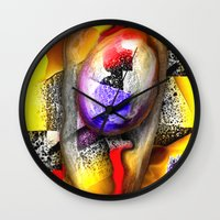 fabric Wall Clocks featuring Fabric by John Hansen