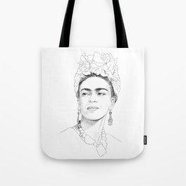 Frida Kahlo Portrait Tote Bag