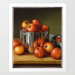 Levi Wells Prentice (1851– 1935), Apples Art Print