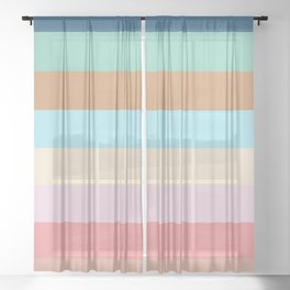 I scream Sheer Curtain