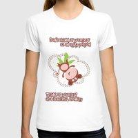 monkey T-shirts featuring Monkey by Arevik Martirosyan