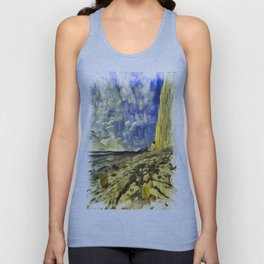 Birling Gap And Seven Sisters Van Goth Unisex Tank Top