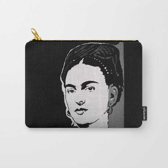 FRIDA - LIFE CURRENT WALL series... Carry-All Pouch