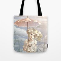 doll Tote Bags featuring Doll by FReMO