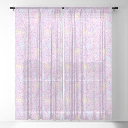 Power Up! Sheer Curtain