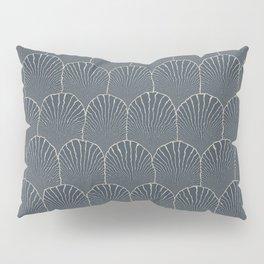 JAPANESE INDIGO: Pattern inspired by Art Deco Pillow Sham
