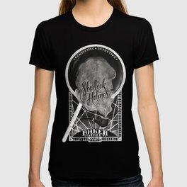 Sherlock Holmes Chalkboard T-shirt