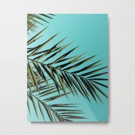Palm Tree Craze Metal Print