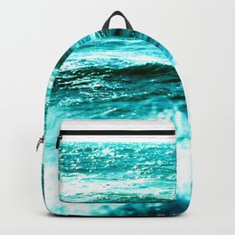California Ocean Waves Backpack