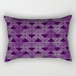 Op Art 124 Rectangular Pillow