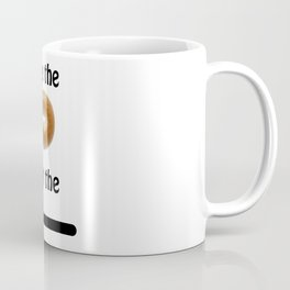 See the Bagel Not the Line Coffee Mug