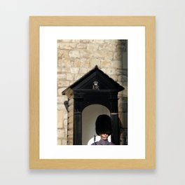 Tower of London Sentry (Beefeater) Framed Art Print